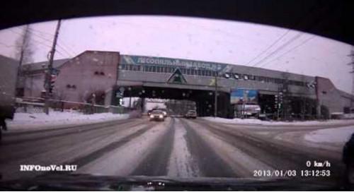ДТП Авария Архангельск въехал в зад