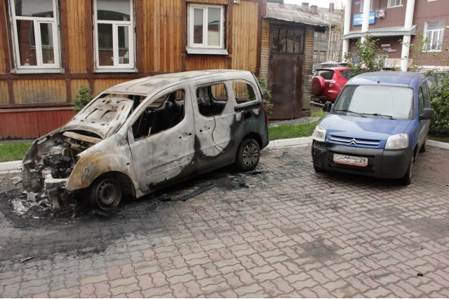 Поджог Архангельск