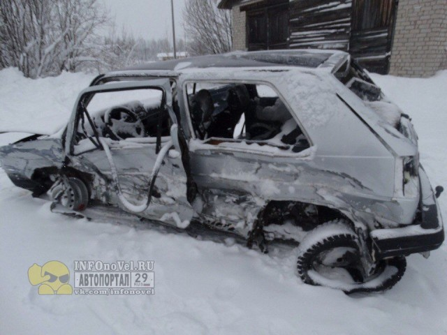 ДТП Авария М8 Архангельская область