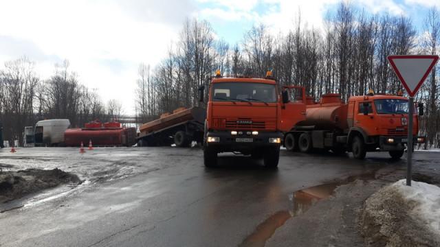 ДТП Бензовоз Архангельск