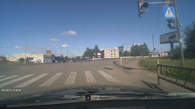 ДТП Авария Архангельск Окружное шоссе Дачная торопыга