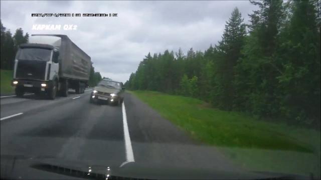 М8 Архангельская область опасный обгон