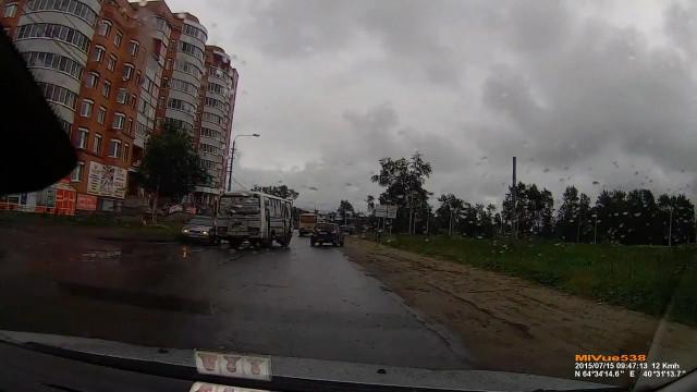 ДТП Авария Архангельск Валявкина ПАЗ