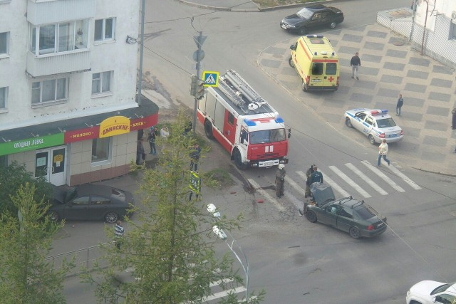 ДТП Авария Архангельск Троицкий Шубина