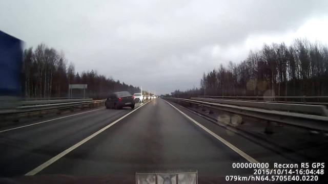 ДТП Авария М8 Северодвинск Архангельск занос