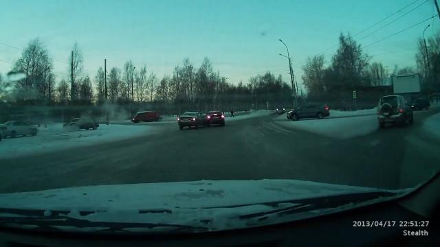 ДТП Авария Архангельск Тимме Гагарина круговое движение