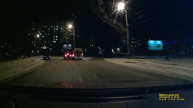 ДТП Авария Архангельск Воскресенская круговое движение