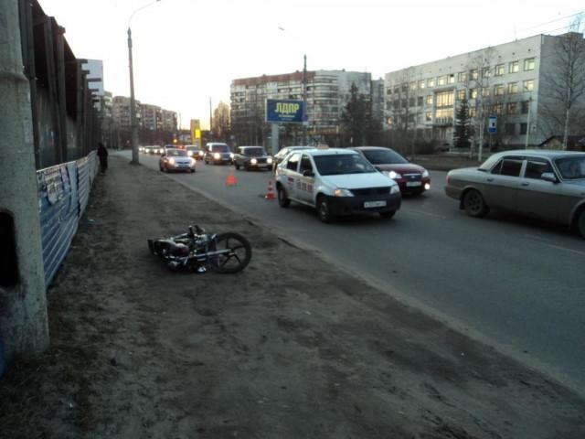 ДТП Авария Архангельск мопед