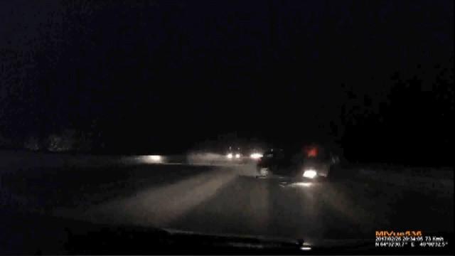 ДТП, Авария, Архангельск, Северодвинск, м8, обгон, гололёд, лобовое