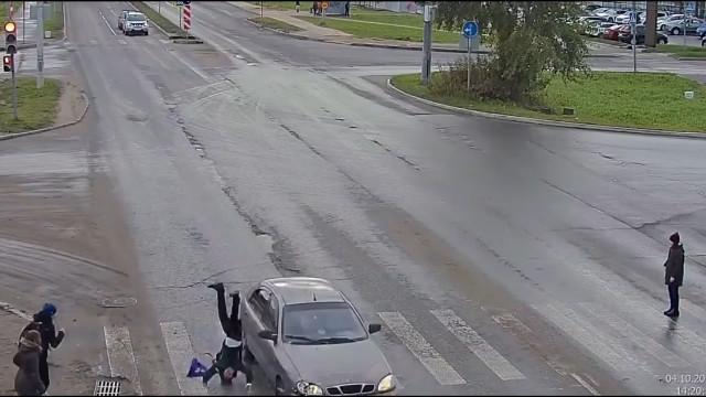 ДТП, Авария, Архангельск, Галушина, Московский, сбил ребёнка, пьяный водитель