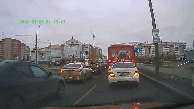 ДТП, Авария, Архангельск, автобус