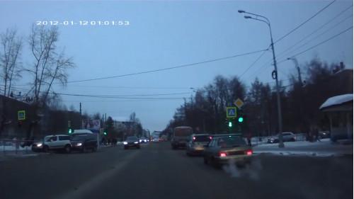 ДТП, Авария, Архангельск, Гайдара, Троицкий, сбил человека