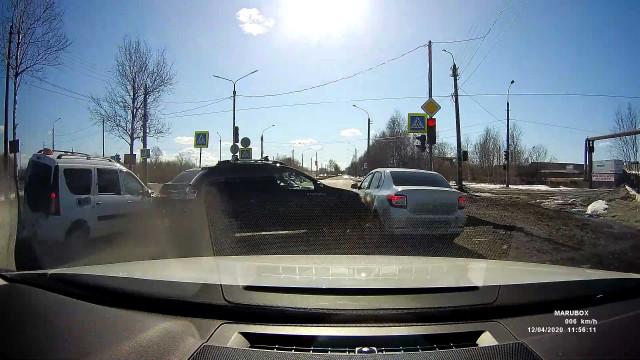 ДТП, Авария, Архангельск, Маймаксанское шоссе
