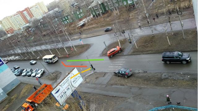 ДТП, Авария, Архангельск, Гагарина