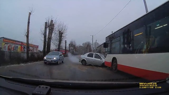 ДТП, Авария, Котлас, Логан
