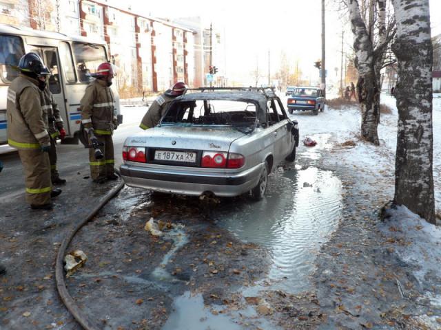 Пожар Онега Архангельская область