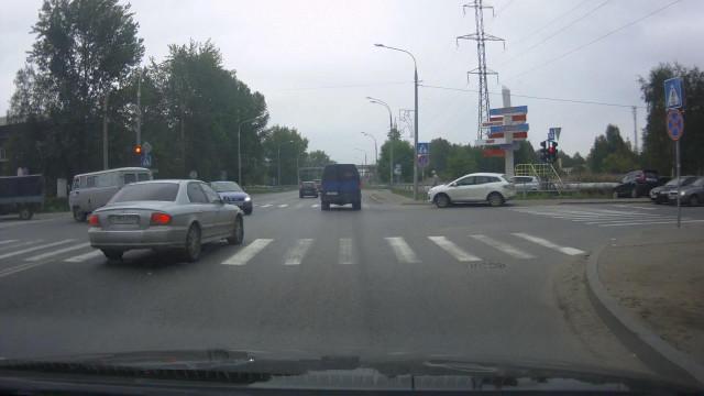 Почти ДТП Архангельское шоссе Юдина Северодвинск