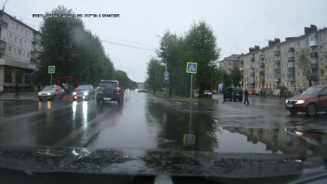 ДТП Авария Карла Маркса Северодвинск Сбили пешехода