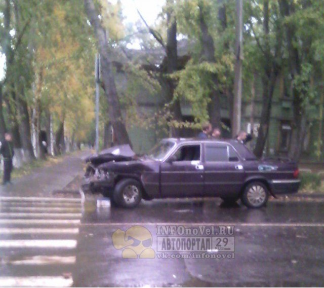 ДТП Авария Советская Полярная Архангельск Волга