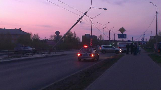 ДТП Авария Северодвинск Архангельское шоссе мотоциклист