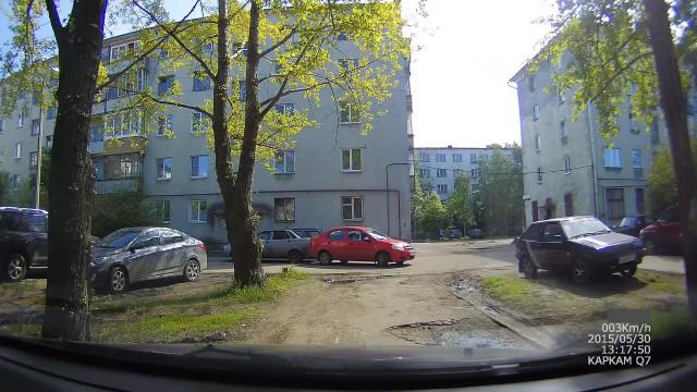 ДТП Авария Северодвинск Женщина за рулём