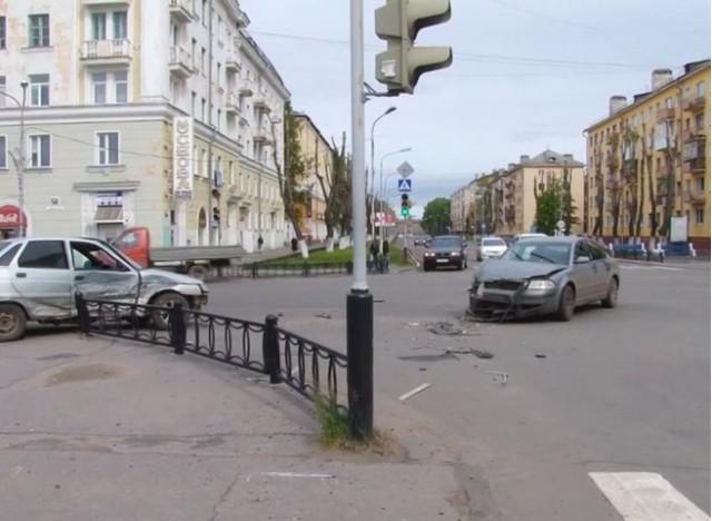 ДТП Авария Северодвинск Ленина Советская