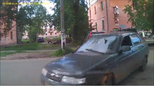 ДТП Авария Северодвинск Индустриальная торопыга