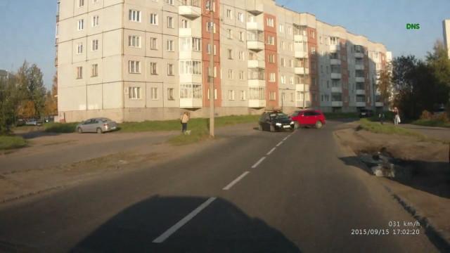 ДТП Авария Северодвинск Малая Кудьма односторонняя