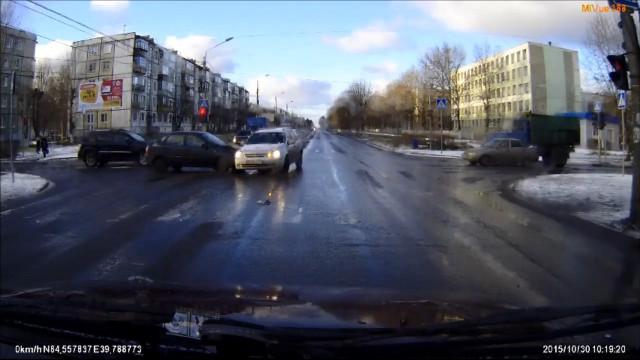 ДТП Авария Северодвинск Карла Маркса Орджоникидзе
