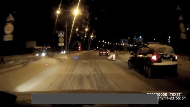 ДТП Авария Северодвинск Архангельское шоссе сбил человека