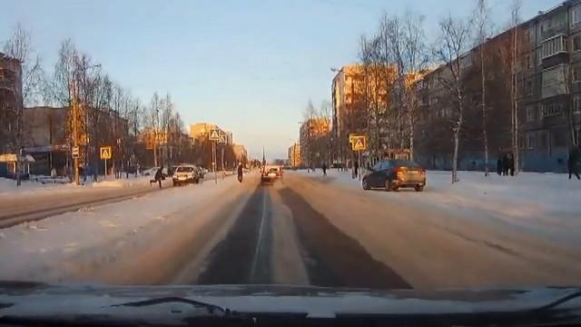 ДТП Авария Северодвинск Морской сбил пешехода