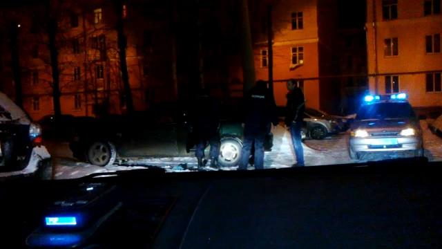 Северодвинск ГИБДД задержание пьяный водитель
