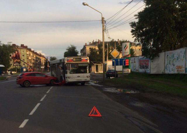 ДТП, Авария, Северодвинск, автобус