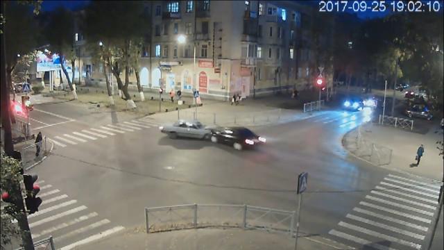ДТП, Авария, Северодвинск, Лесная, Ленина, не пропустил