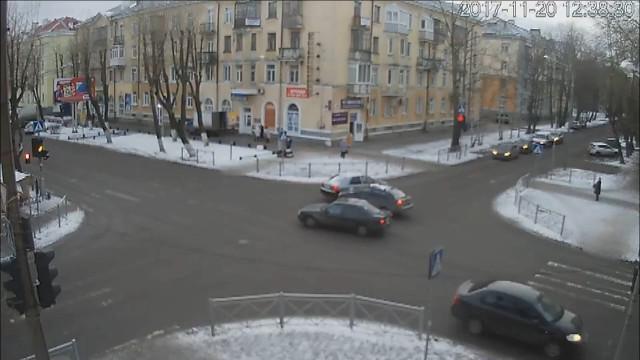 ДТП, Авария, Северодвинск, Ленина, Лесная, не пропустил