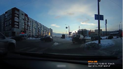 ДТП, Авария, Северодвинск, Морской, Чеснокова