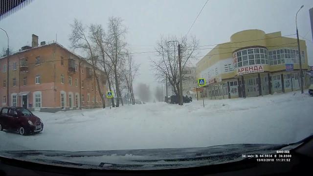 ДТП, Авария, Северодвинск, Беломорский, Лесная, не пропустил