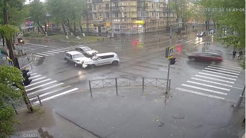 ДТП, Авария, Северодвинск, Ленина, не пропустил