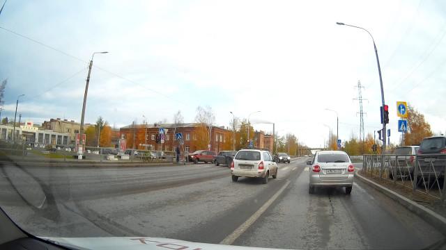 ДТП, Авария, Северодвинск, Архангельское шоссе, смотри на знаки