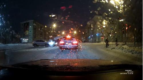 ДТП, Авария, Северодвинск, Железнодорожная, Первомайская, не пропустил