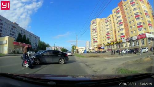 ДТП, Северодвинск, мотоциклист