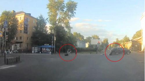 ДТП, Северодвинск, Ленина, Советская, мотоциклист