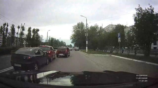 ДТП, Авария, Северодвинск, Труда, дистанция