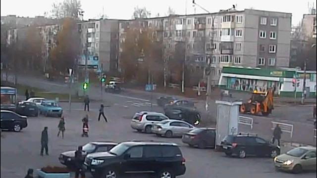 ДТП Авария Архангельск Тимме перевёртыш