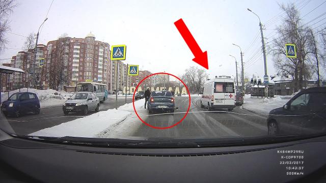 ДТП, Авария, Архангельск, Кузнечевский мост, сбили человека
