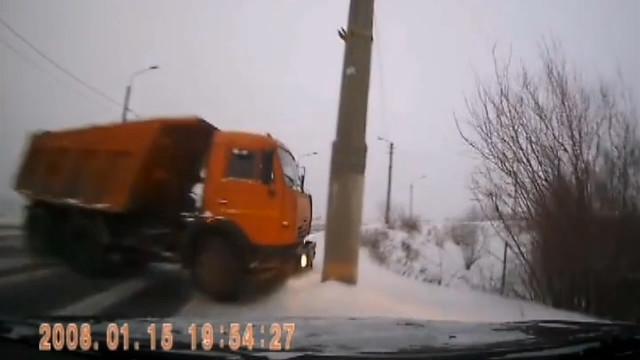 ДТП, Авария, Архангельск, Сульфат, КАМАЗ, Лобовое