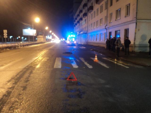 ДТП, Авария, Архангельск, сбили человека