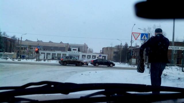 ДТП Авария Северодвинск Архангельское шоссе Юдина
