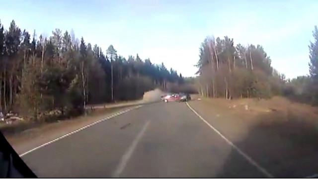 ДТП Авария Вельск Архангельская область лобовая